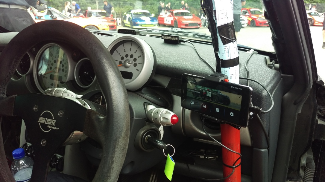 Android Dash Early Testing Mini R53