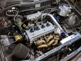 MM Project EP82 Engine Bay