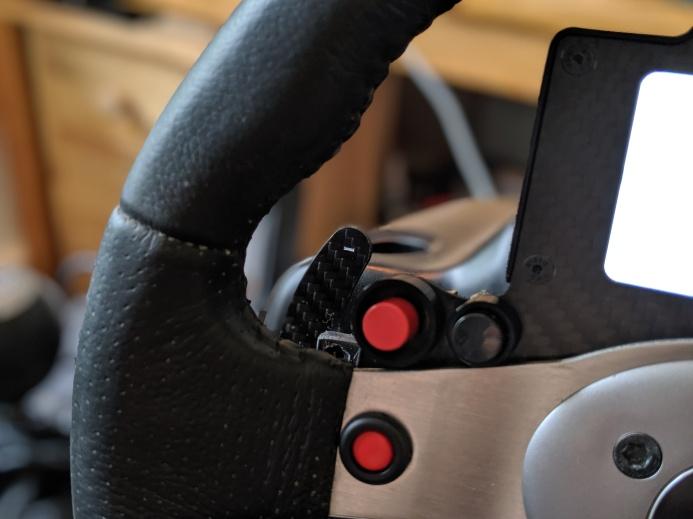 Motorsport Maker Carbon Paddle Shifter